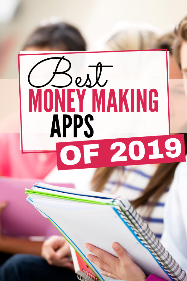 Best Money Making Apps | If you're looking for apps that will put money back in your pocket here are the top 19. (Lots of variety._ #MoneyMakingApps #SideHustle #workfromhome