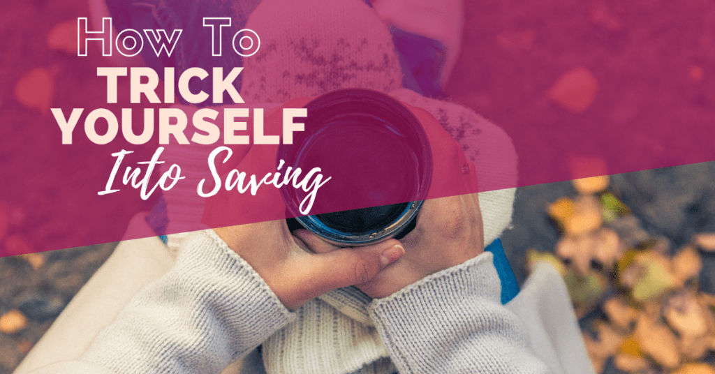 Not so good at saving? Trick yourself into saving with these tips and watch your bank account balance grow higher. Easy to implement.