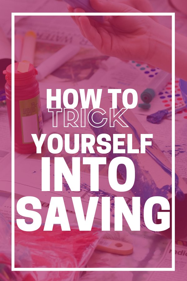 Not so good at saving? Trick yourself into saving with these tips and watch your bank account balance grow higher. Easy to implement. #saving #frugal