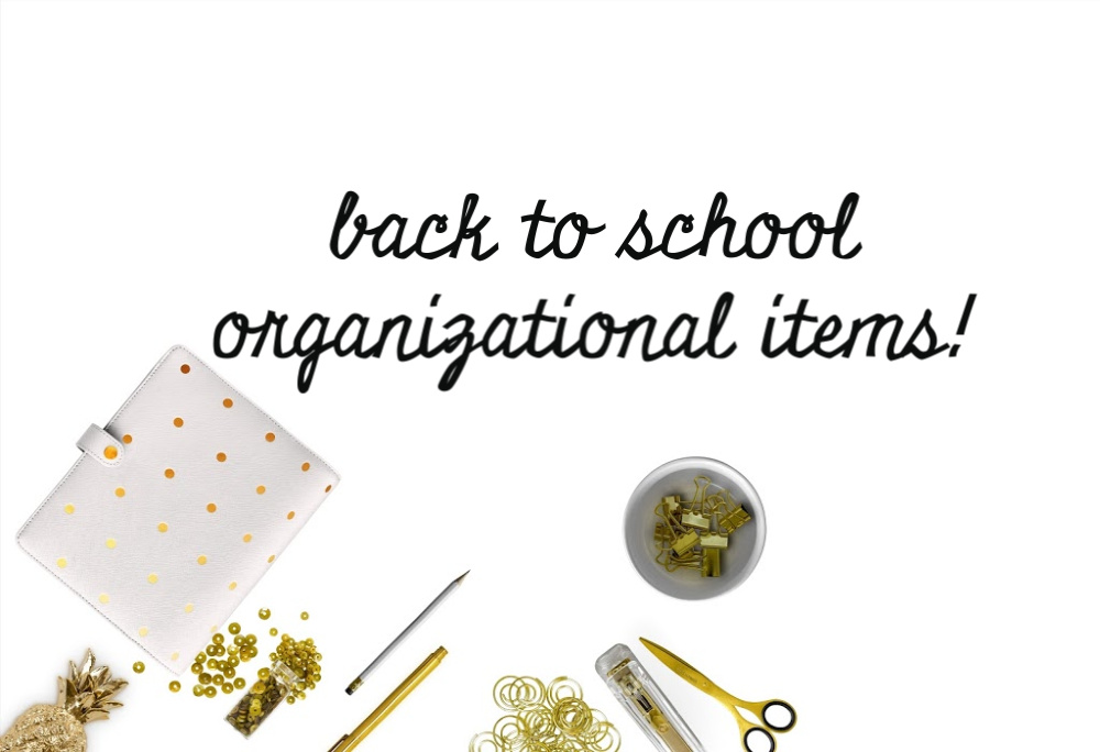 Back to school sales are not just for pen and paper. In fact, back to school sales are a GREAT time to purchase organizational items. Here are our top picks.