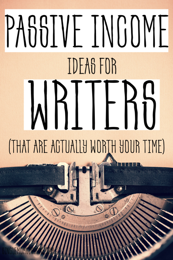 I think we can agree – as a writer sometimes work begins to feel monotonous. Learn how I diversify my income with these passive income ideas for writers. #passiveincome #writer #freelancewriting #workfromhome
