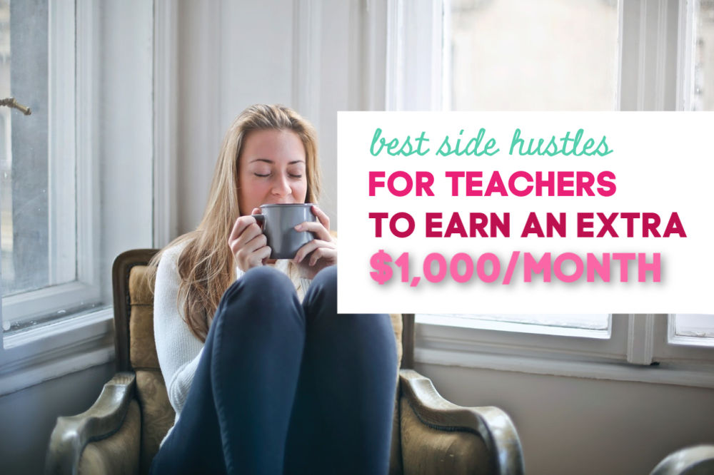 As a teacher, if you want to earn extra money you have a lot of options. Here are some of the best side hustles for teachers that are flexible.