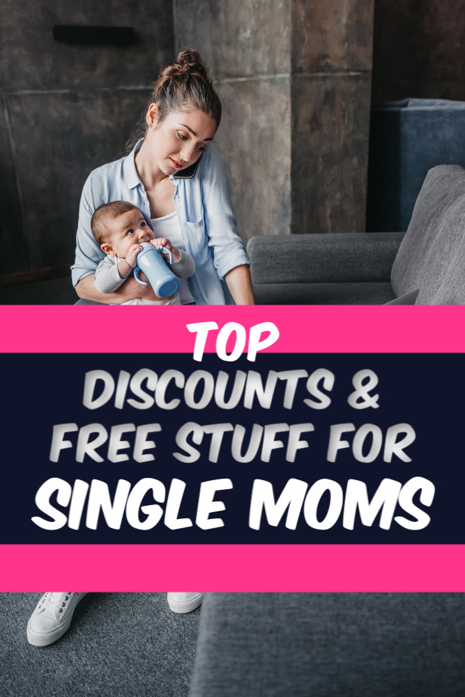 Hard working single moms may still have trouble with money. Making a budget stretch for a whole family is tough! Here are the best discounts for single moms. #singlemom #money