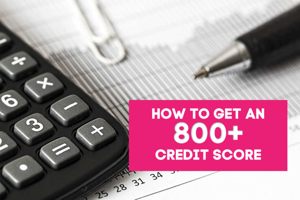 Trying to get into the 800 credit score club? I'm sharing what it took to get my credit score to 823. (I think this may really shock you!)