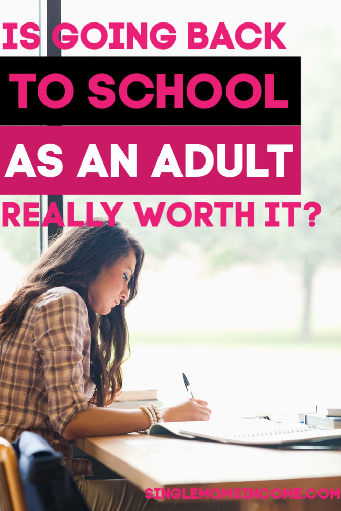 Going back to school is NOT worth it for everyone. If you're thinking of heading back to college as an adult, here are some key considerations to make.