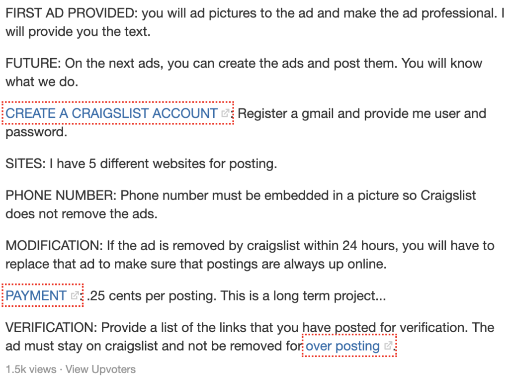 Is it possible to make money posting ads on Craigslist?