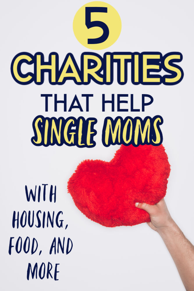 There are times when a little help can go a long way. If you need assistance in a specific area here are five charities that help single mothers.