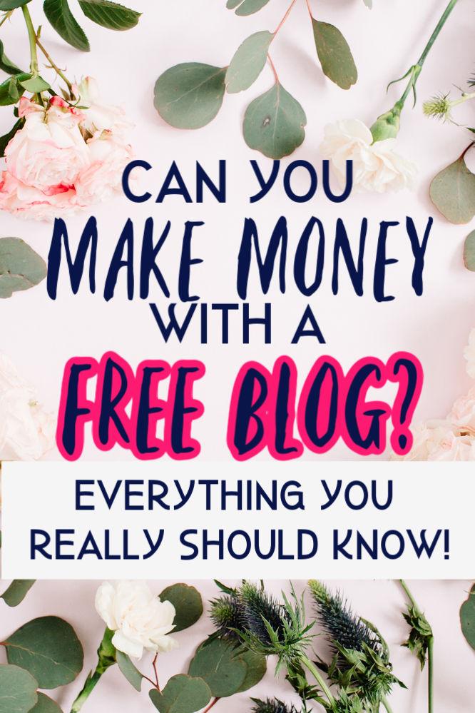 Pouvez-vous gagner de l'argent avec un blog gratuit? Réponse courte: oui, mais c'est difficile à faire. Découvrez pourquoi il est difficile et pourquoi investir dans un hébergement payant.