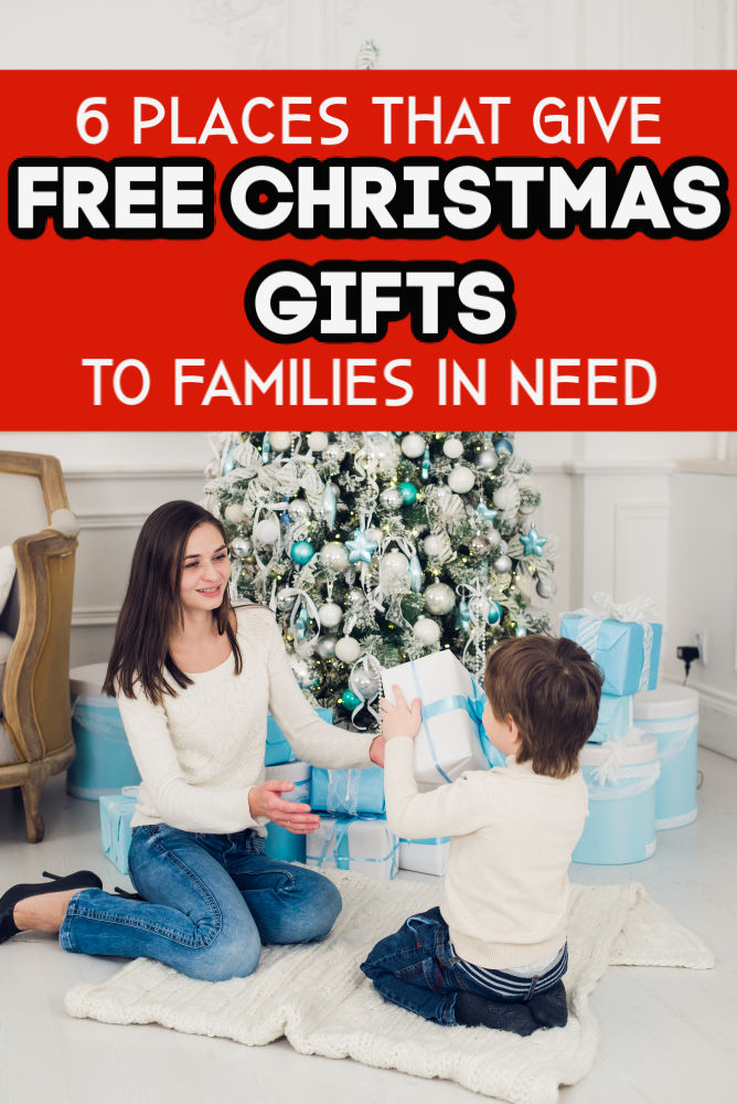 If you're struggling financially this year, don't let Christmas overwhelm you. Here are six places that give free Christmas gifts.