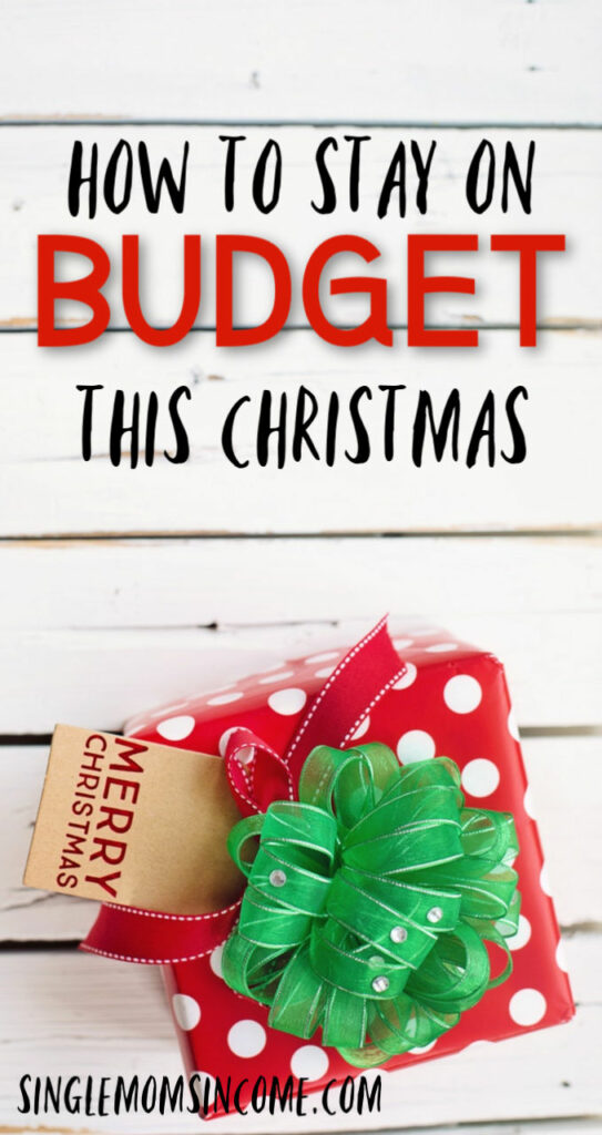 Don't let Christmas shopping destroy your finances. Here are four steps you can take to make sure you stay on budget this Christmas.