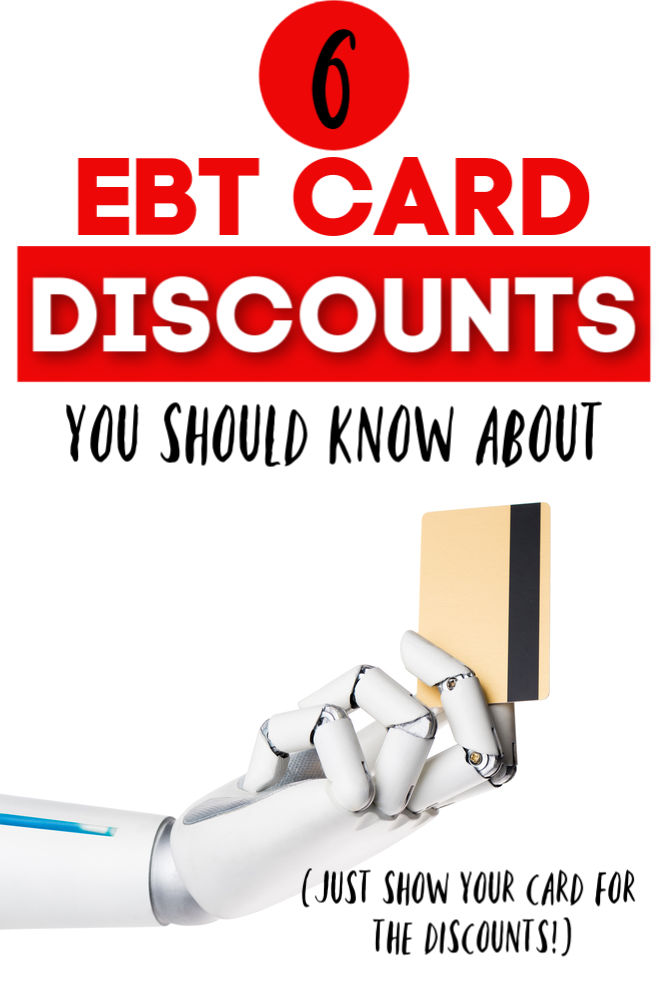 If you have an EBT card you make your money go even further with these discounts. Here are six national discounts you should take advantage of.