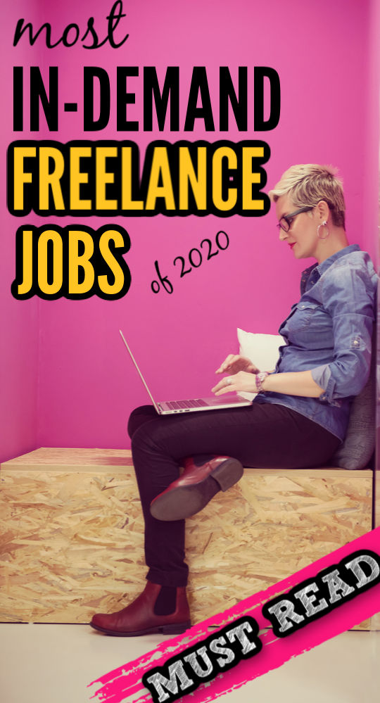 The year 2020 is proving to be difficult for employers and employees, alike. Luckily these in-demand freelance jobs can recession-proof your career.