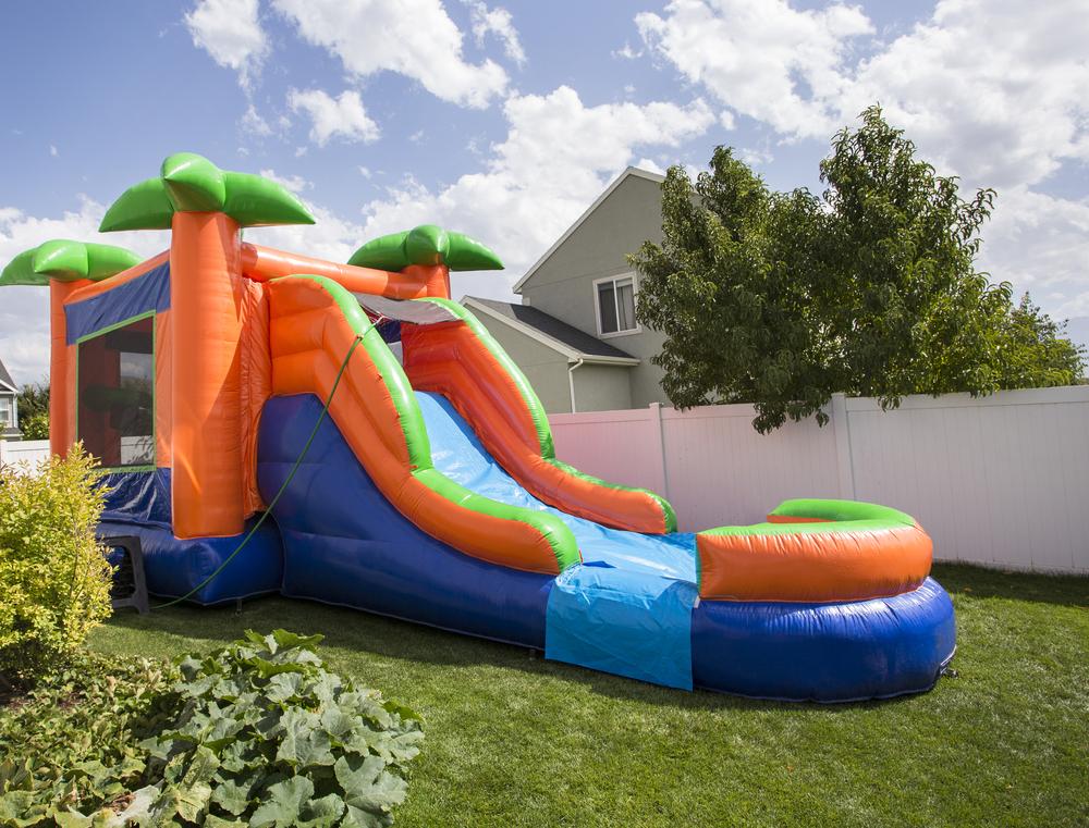 Bounce house rental business idea.