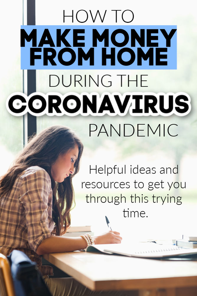 The coronavirus has caused more chaos predicted. If your income has been affected, here are ten way to earn money from home amid the coronavirus pandemic.