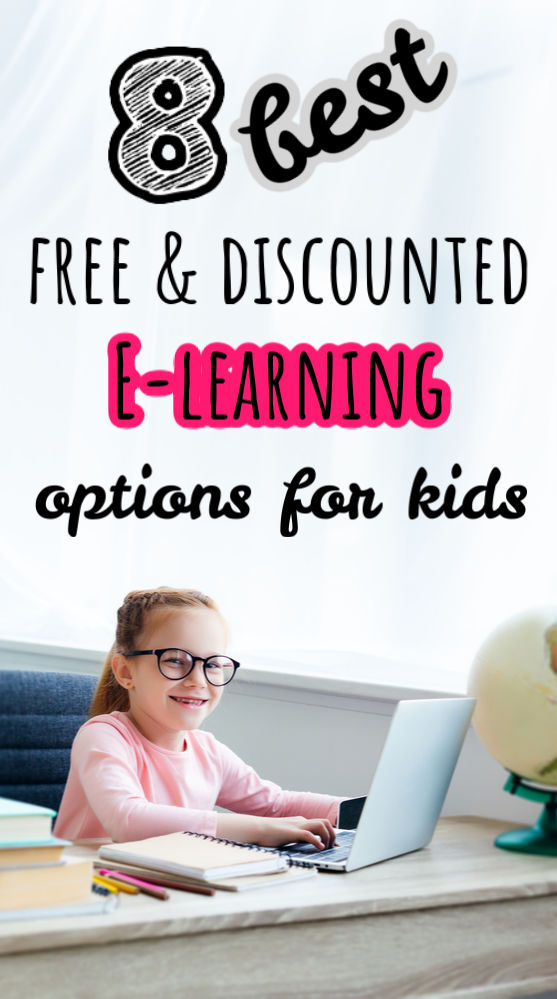 Just because school is out doesn't mean your kids should stop learning! Here are eight companies offering discounted and free e-learning options for kids.