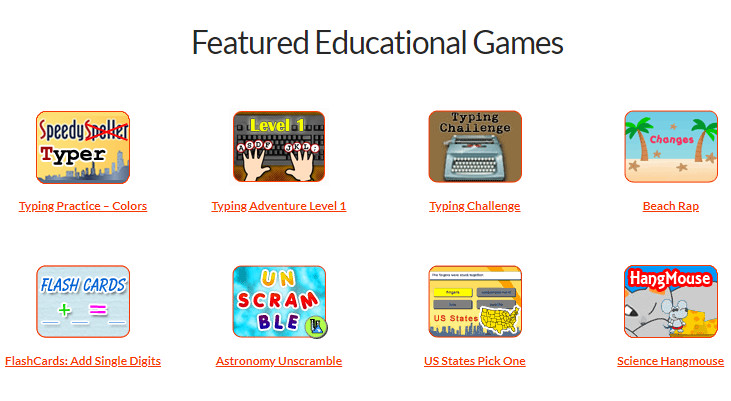 Free kids learning games.