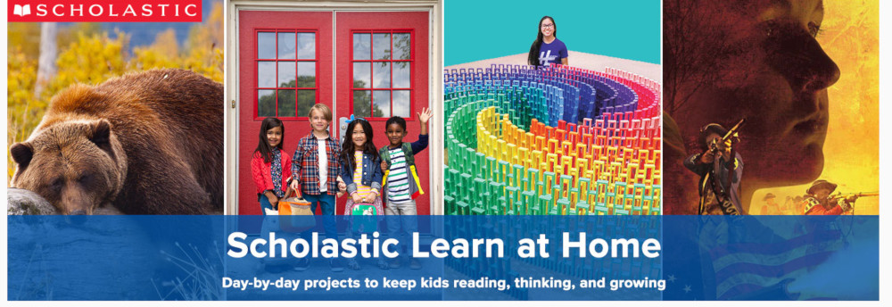 Free at home school lessons from scholastic.