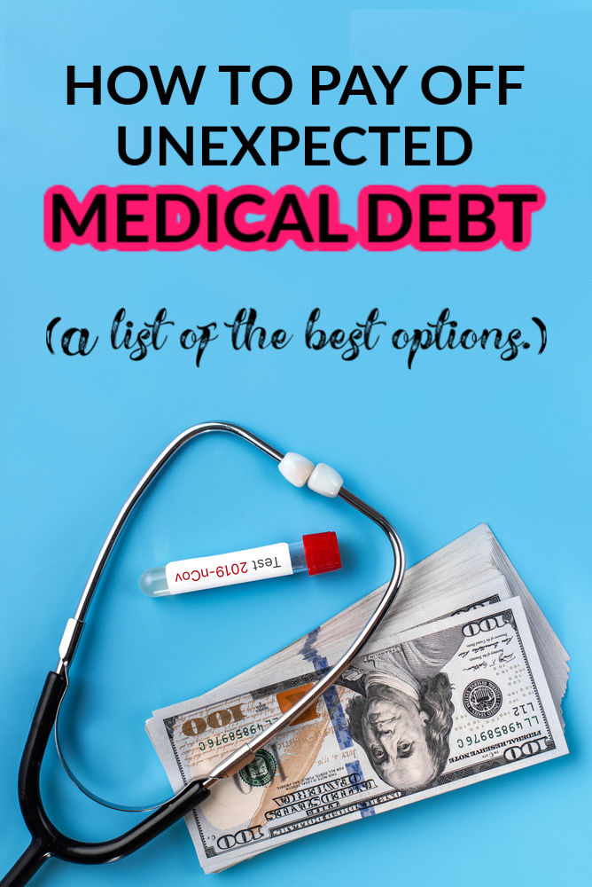 How to pay off unexpected medical debt