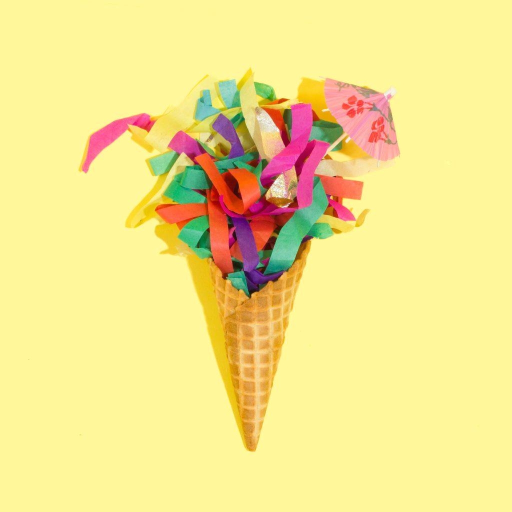 Confetti cone