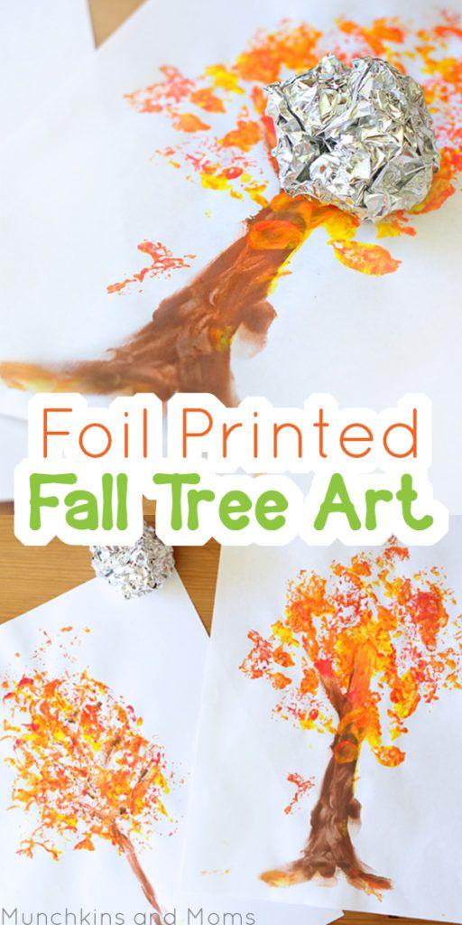 Foil fall tree