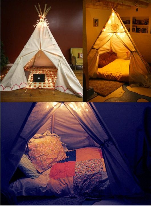 Simple Ways To Make Tents For Your Kids
