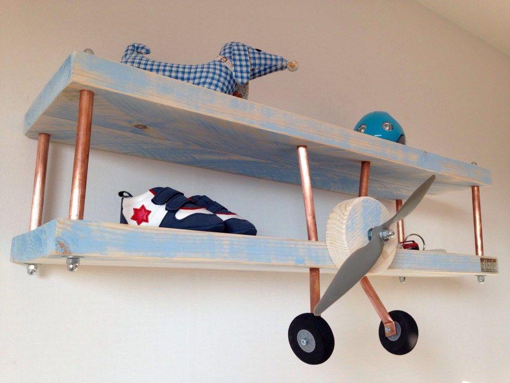 plane book shelf