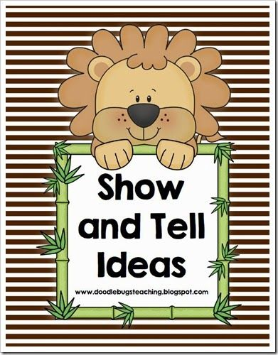 The Ultimate List Of Show & Tell Ideas For Preschoolers